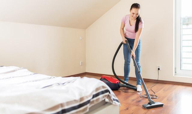 Čiščenje spalnice