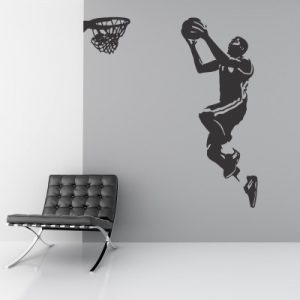 Otroška nalepka Košarkar