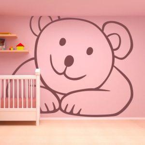 Otroška nalepka Medvedek