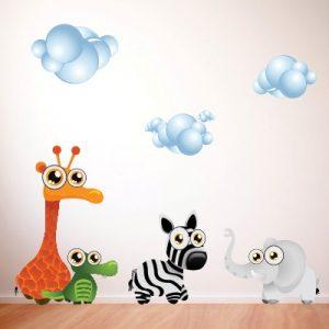 Otroška nalepka Živali