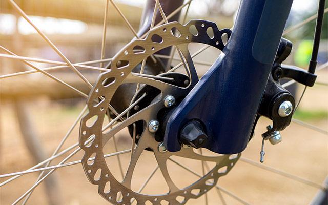 Disk zavora na gorskem kolesu